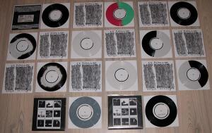 ceremony scared people bridge 9 collection ep 7 inch easter egg record release he god has favoured