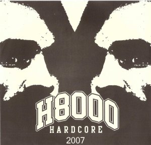 H8000 hardcore 7 inch alternate cover october 6 2007