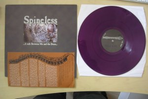 spineless a talk between me and the stars lp purple vinyl sober mind records