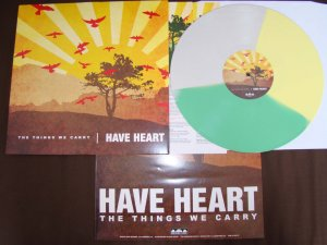 have heart the things we carry lp tri color vinyl bridge 9