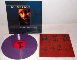 blindfold restrain the thought lp purple vinyl conquer the world