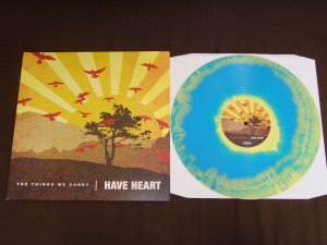 have heart the things we carry lp blue yellow first press bridge 9