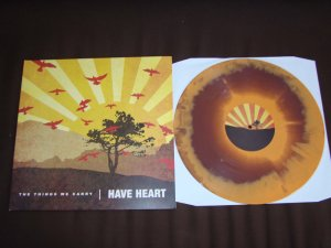 have heart the things we carry lp brown orange first press bridge 9