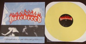 hatebreed satisfaction is the death of desire lp yellow victory records