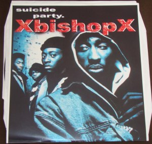 xbishopx bishop suicide party lp test press