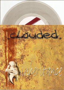 clouded inheritance 7 inch clear smoke vinyl genet records
