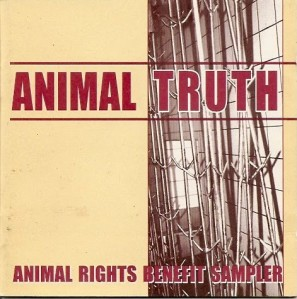 animal truth benefit sampler cover cd vegan compilation sober mind records