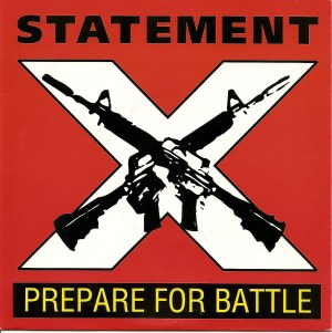 statement prepare for battle cover 7 inch hardline vinyl