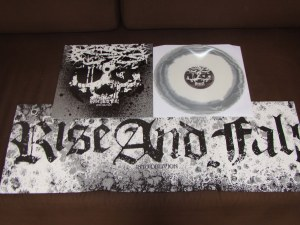rise and fall into oblivion LP gray white deathwish inc reissue