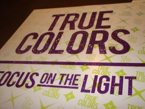true colors focus on the light lp silkscreen cover sfu six feet under