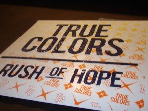 true colors rush of hope silkscreen cover six feet under sfu