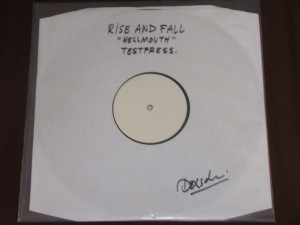 rise and fall hellmouth lp first press test press anger management