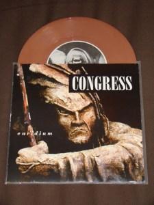 congress euridium brown vinyl 7 inch warehouse records
