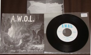 awol 7 inch braveheart records deep thoughts about the end A way of life kds