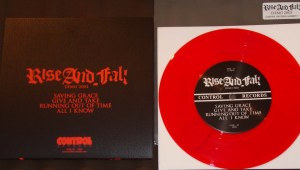 rise and fall demo 2003 red vinyl 7 inch control records