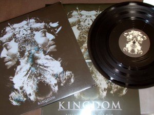 kingdom st s/t lp black vinyl genet records limited
