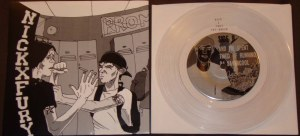 nickxfury 7 inch pre trapped under ice sam trapkin justice pre order version Sike out records