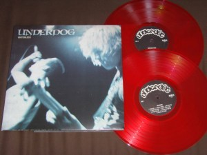 underdog matchless double lp set bridge nine red vinyl