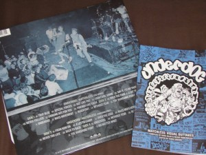 underdog nyhc discography book matchless 2LP red vinyl
