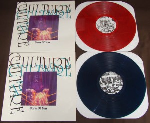 culture born of you original conquer the world pressings red blue smoke vinyl morning again 90s