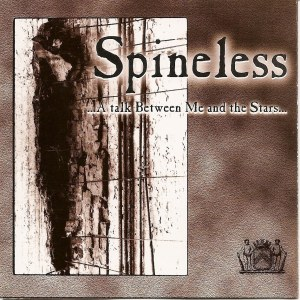 cover spineless a talk between me and the stars CD sober mind records