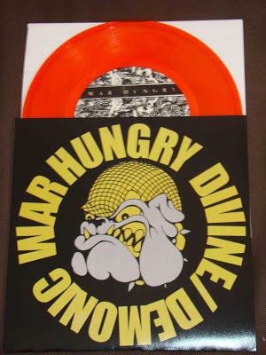 war hungry devine demonic color vinyl orange limited brain grenade