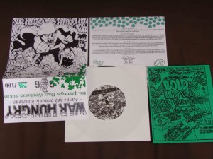 war hungry devine demonic saint patty record release version cover brain grenade records vinyl