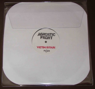agnostic front victim in pain test press bridge nine reissue nyhc