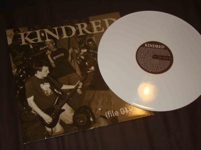 kindred file 1 LP white vinyl good life recordings belgium