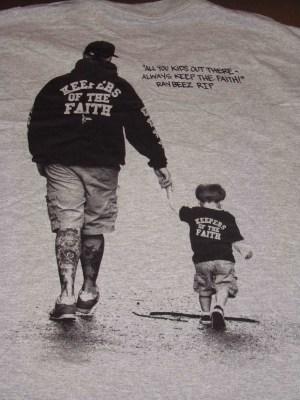 Terror Keepers Of The Faith shirt raybeez always keep the faith