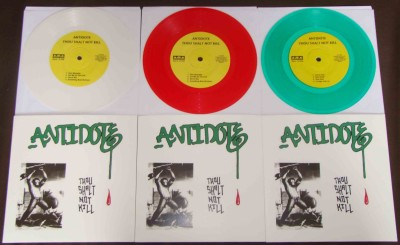 antidote thou shalt not kill nyhc reissue colors of first press bridge 9 records vinyl