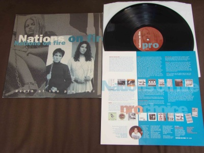 nations on fire death of the pro lifer LP genet records belgium H8000