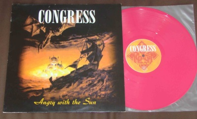 congress angry with the sun LP pink vinyl good life h8000