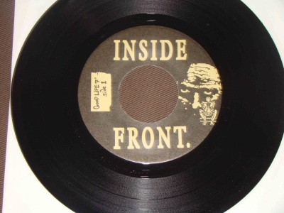 inside front compilation good life regression shrotsight liar congress a side 7 inch