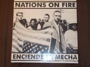 nations on fire enciende la mecha LP spanish press cover