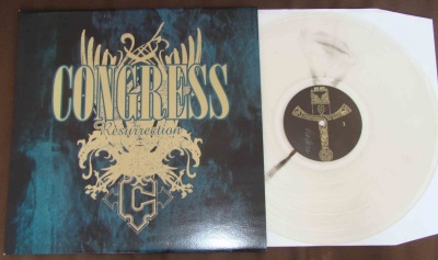 congress ressurection LP clear vinyl eye spy records good life license