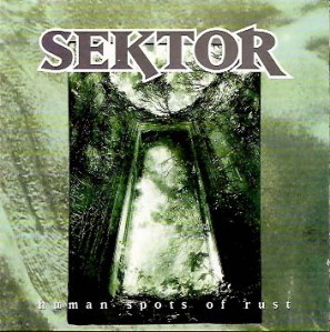 sektor human spots of rust cover cd version sober mind records