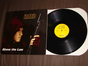 raid above the law LP vinyl hardline records vegan straight edge