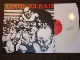 loud and clear LP clear vinyl light the fuse festival pressing