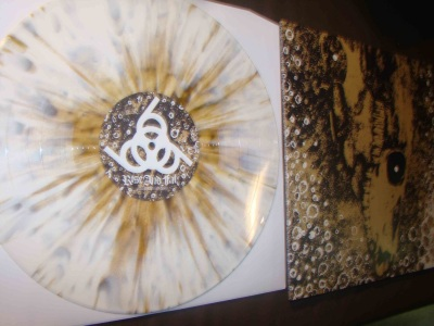 rise and fall our cricle is vicious LP tour press record release white bronze splatter vinyl