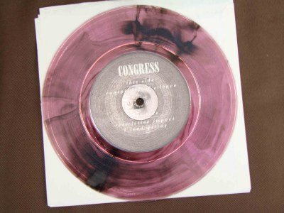 congress euridium 7 inch transitional purple vinyl warehouse records H8000