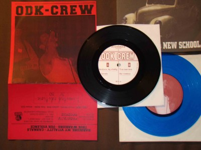 ODK crew 7 inch h8000 limited red cover edition micha