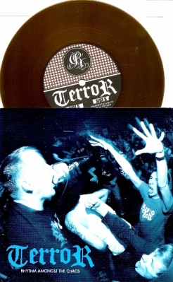 terror rhythm amonst the chaos 7 inch gold vinyl pre -order reaper records
