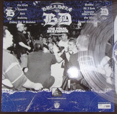 bulldoze LP the year is one trip machine laboratories clear vinyl