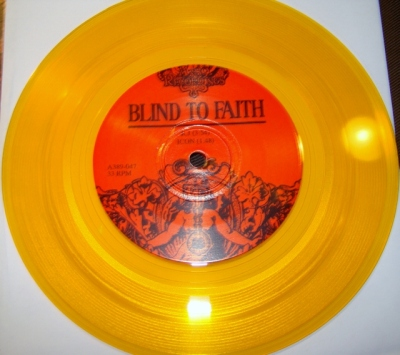 blind to faith gehenna split 7 inch a389 record gold vinyl pre order
