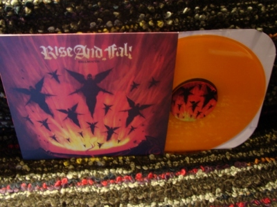 rise and fall hellmouth LP deathwish 2012 reissue gold vinyl