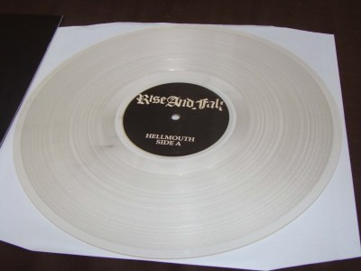 rise and fall hellmouth color clear LP anger management records vinyl