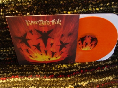 rise and fall hellmouth LP deathwish 2012 reissue orange vinyl