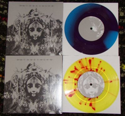 oathbreaker colored vinyl tdon thirty days of night 7 inch record vinyl