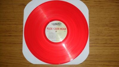 various artists flex your head dischord red vinyl LP